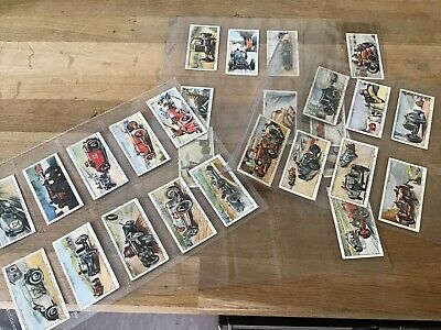 Ogdens Motor Races  1931 Original Cigarette Cards X27 Racing Cars Brooklands Etc