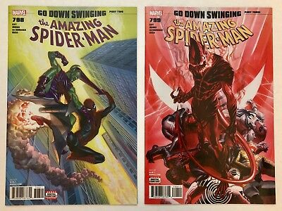 AMAZING SPIDER-MAN #798 799 LOT 1st App Norman Osborn Red