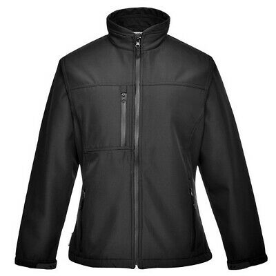 016 Charlotte Ladies Softshell Black Med TK41BKRM Portwest Top Quality Product
