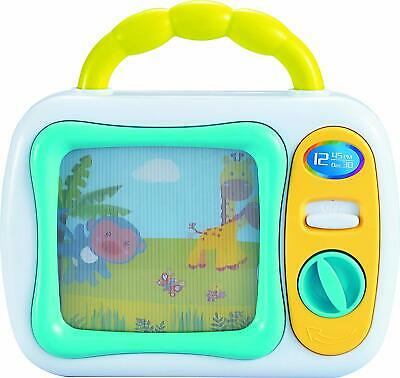 My First TV Baby Musical Television Colourful Toy Safari Animals Lullaby Play