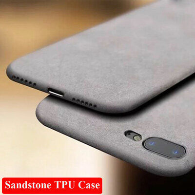 Ultra Thin Soft TPU Sandstone Matte Case Cover For iPhone XS Max XR 8 7 6s Plus