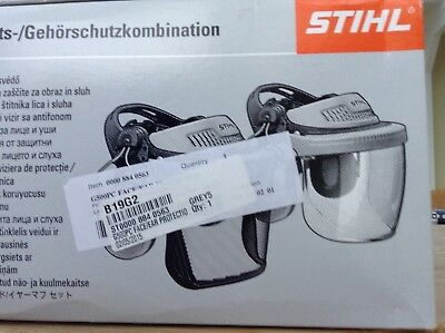 Stihl G500PC Face/ear protection