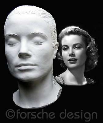 Grace Kelly Life Mask Princess of Monaco Rear Window To Catch a Thief Mogambo