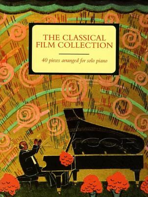 The Classical Film Collection Solo Piano Sheet Music Book Bach Vivaldi Beethoven