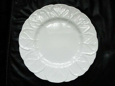 Coalport White Bone China Countryware DINNER PLATE Cabbage Leaf Wedgwood