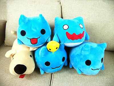 Bugcat Capoo Plush Blue Cute Cat Toy Cosplay Cartoon Doll Gifts