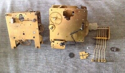 Haller Clock Movement Chiming Spare Parts 9 Chime Westminster Franz Hermle