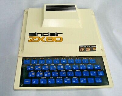 SINCLAIR ZX80 Vintage Computer....NOT WORKING
