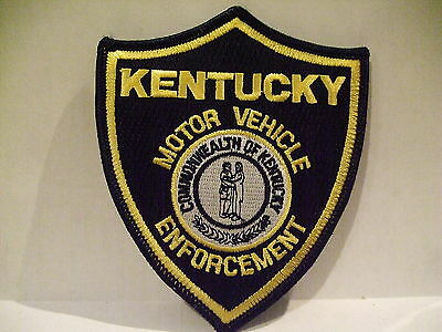 police patch MOTOR VEHICLE ENFORCEMENT KENTUCKY