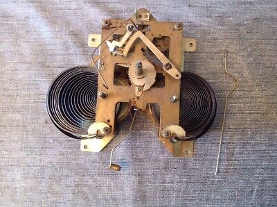 Wall Clock Movement Chiming 14x13cm For Spare Parts Repair Untested