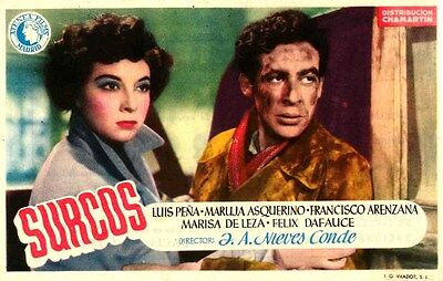 SURCOS (1951)  * with switchable English subtitles **SALE*