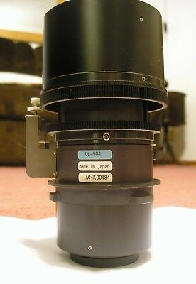 Hitachi UL-504 Ultra Long Throw Zoom Lens for Slide Projector CP-X1250