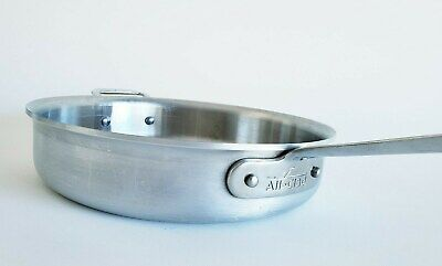 """All Clad 3.5 qt 11"""" Master Chef 2 Saute Pan Metal Crafters Handle"""