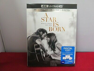 A Star Is Born (4K Ultra HD + Blu-ray + Digital; 2018) NEW with Slipcover