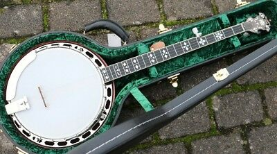 NEU Recording King  RK-ELITE-76 hearts and flowers Banjo 5 saitig mit Koffer