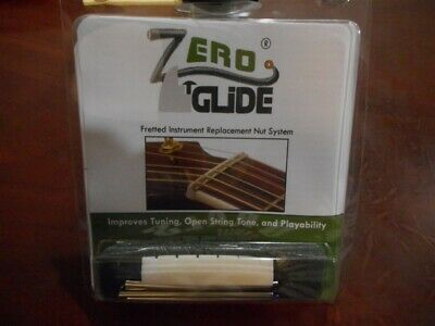 NEW Gold Tone Zero Glide Replacement Slotted Nut For Gibson Guitars - ZS-1