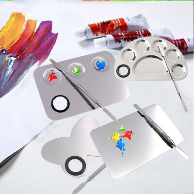 Drawing Pupil Learning Outdoor Mixing Pigment Painting Graffiti Palette Spatula