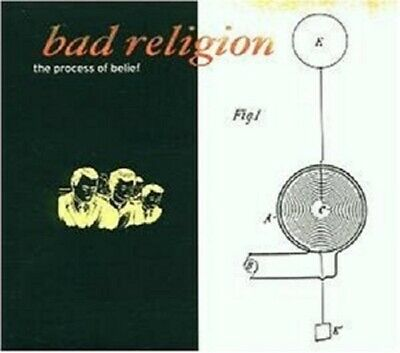 Bad Religion 'The Process Of Belief' Cd New+ !!!!
