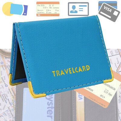 PORTUGAL BUS PASS WALLET CREDIT TRAVEL CASH RAIL ID HOLDER FOR OYSTER CARD