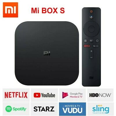 Xiaomi mi box S smart tv box android tv 8.1 4K 4Core 2G 8G WIFI Google Cast 2019