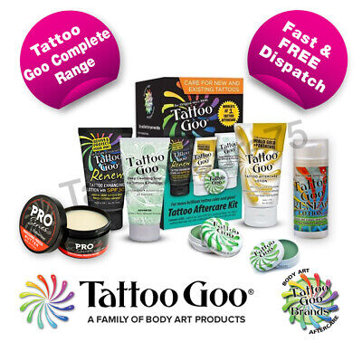 Tattoo Goo Aftercare Range - Lotion Soap Tin Tattoo - Healing & Protection