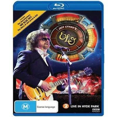 Jeff Lynne's ELO Live in Hyde Park BLU-RAY All Regions NEW