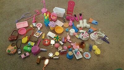 Barbie Accessories Kitchen Food, Grocery, accessorie, shoes and more
