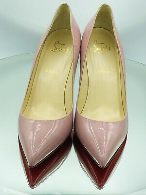 new product b1aaf 36f82 CHRISTIAN LOUBOUTIN PIGALLE Follies Pink 85mm Pumps Heels Size 41