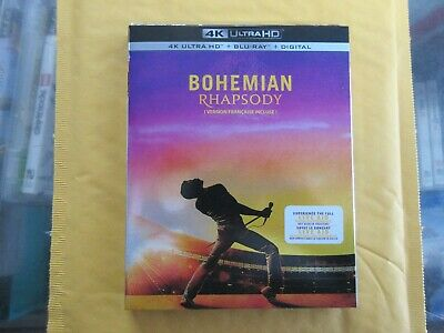 BRAND NEW Bohemian Rhapsody (4K Ultra HD + Blu Ray + Digital)