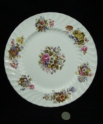 "Set Of 4 Aynsley Summertime 10.5""  Dinner Plates"