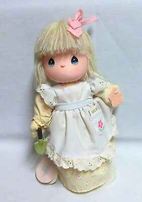 "1989 Musical Precious Moments Vintage Doll Jessy 11"" Applause"
