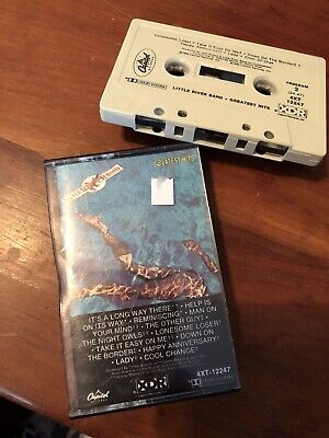 Little River Band Greatest Hits Cassette Tape