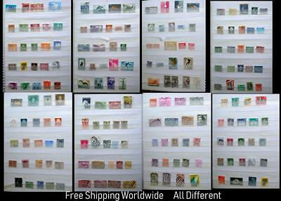 Stamp Collection From Switzerland Belgium Netherlands & Italy All Different