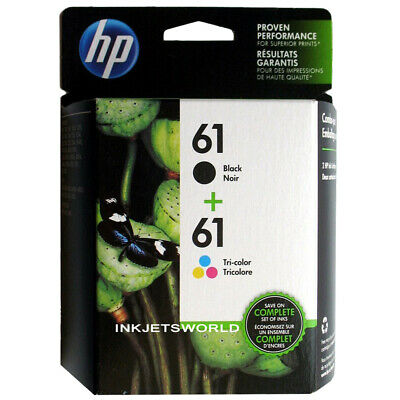 HP 61 Ink Cartridges Genuine Combo Set Retail Box Warranty 2020 and Better