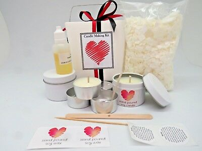 Mini Soy Candle Making Kit - duo pack - gorgeous gift.