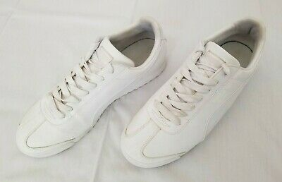 8e46671d2c43 Mens Size 11 White Puma Roma Basic Synthetic Leather Casual Shoes 35357221