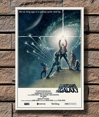 Art Poster 24x36 27x40 - Guardians of the Galaxy Marvel Movie Star Wars T-1753