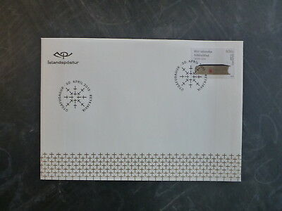 2015 ICELAND 200tH ANNIV BIBLE SOCIETY ICELAND FDC FIRST DAY COVER