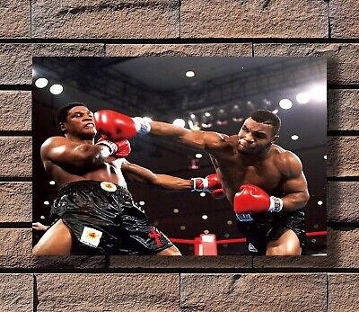Art Poster 24x36 27x40 Mike Tyson- American Professional Heavyweight Boxer T-393