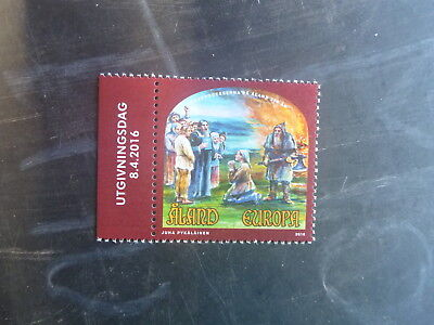 2015 Aland, Finland Witch Trials Mint Stamp Mnh