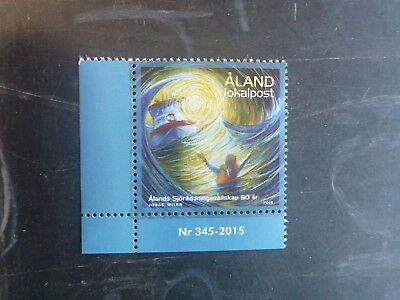 2015 Aland, Finland Sea Rescue Mint Stamp Mnh