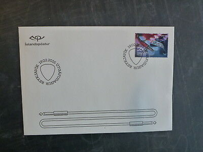 2015 Iceland Culture The Airwaves Issue Fdc First Day Cover