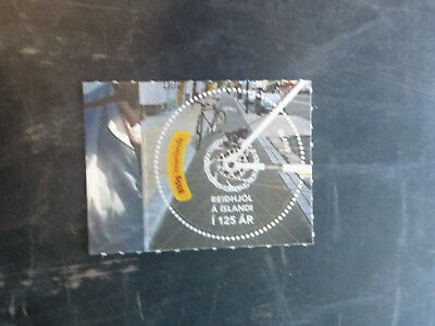 2015 ICELAND 125th ANNIV OF BICYCLES ISSUE MINT STAMP MNH