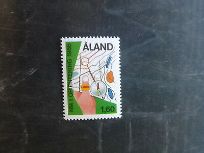 1986 Aland Northern Champonshiip Orienteering Mint Stamp
