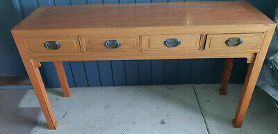Chinese  4 Drawer Console Hall Table
