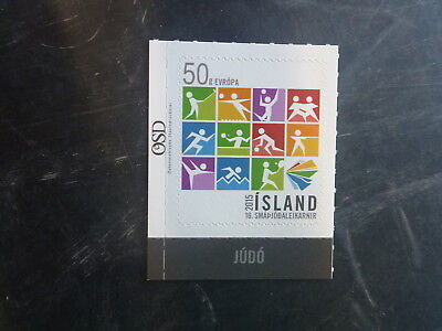 2015 Iceland Games Of The Small States Mint Stamps Mnh