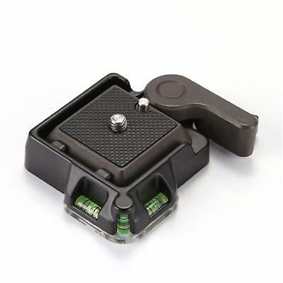Clamp&Quick Release QR Plate Mount Holder For Tripod Monopod Ball Head Camera WL