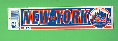 #t308.    1987  Baseball Stciker -  New York Mets
