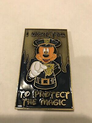 Disney Security Glow In The Dark Mickey Wants You Challenge Coin