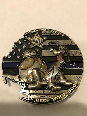Disney Pluto Star Wars Challenge Coin
